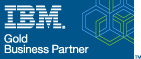 IBM Gold Partner logo